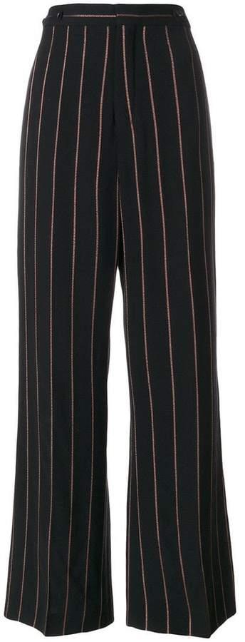 Chloé pinstriped wide leg trousers