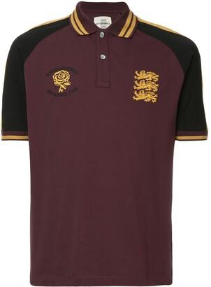 Kent & Curwen colour block polo shirt