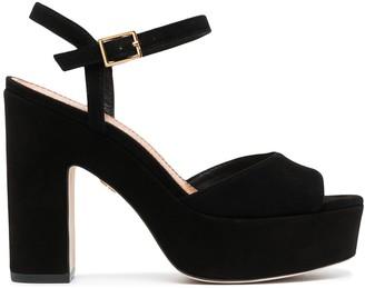 Tory Burch Platform Leather Sandals