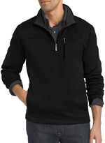 Van Heusen Long-Sleeve Traveler Spectator Quarter-Zip Shirt