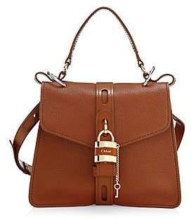 Chloé Women's Medium Aby Leather Top Handle Bag