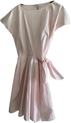 Carven Pink Cotton Dress for Women