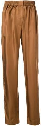 Cédric Charlier Tailored Silk Pants