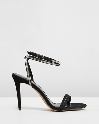 Siren Women's Black Stilettos - Dina - Size One Size, 37 at The Iconic