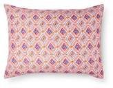 Xhilaration Coral Boho Diamond Pillowcase