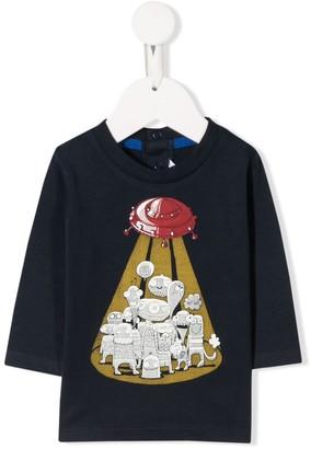 Little Marc Jacobs printed aliens T-shirt