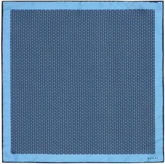 Gucci Silk twill pocket square