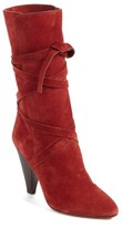 Veronica Beard Women's Hall Crisscross Tie Boot