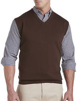 Harbor Bay V-Neck Sweater Vest Casual Male XL Big & Tall