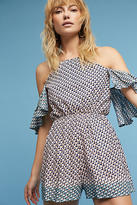 Elevenses Madalenna Open-Shoulder Romper