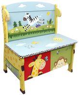 Teamson Kids Fantasy Fields Sunny Safari Storage Bench