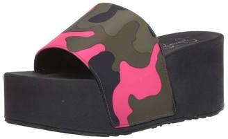 Jessica Simpson Women's Faille Slide Sandal