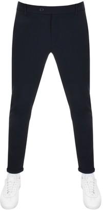 Les Deux Como Stretch Cropped Trousers Navy