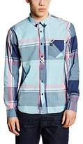 Voi Jeans Men's Kelson Slim Fit Long Sleeve Casual Shirt