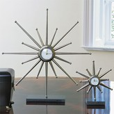The Well Appointed House Global Views Star Desk Clock-Available in Two Different Sizes