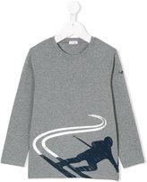 Il Gufo ski print sweatshirt