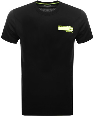 Alpha Industries Blount Avenue Logo T Shirt Black