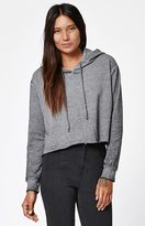 La Hearts Burnout Cropped Pullover Hoodie