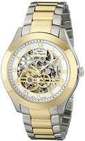 Rotary Men's gb90515/10 Analog Display Swiss Automatic Two Tone Watch