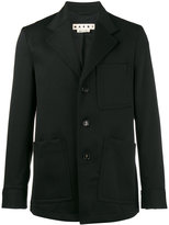 Marni Gabardine patch pocket blazer