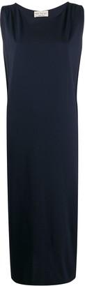 Ma Ry Ya Cape-Back Sleeveless Midi Dress