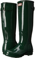 Hunter Original Back Adjustable Gloss Women's Rain Boots