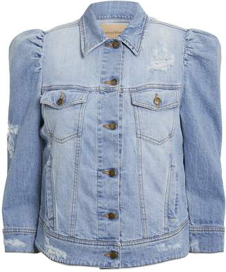 retrofete Ada Puffed Sleeve Denim Jacket