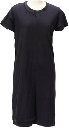 Comme des Garcons Black Cotton Dresses