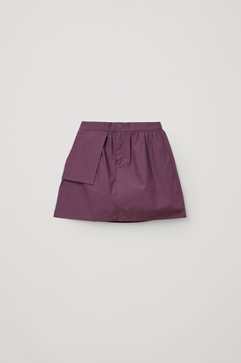 Cos A-Line Cotton Skirt