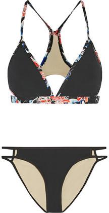 Tart Collections Everette Cutout Printed Bikini