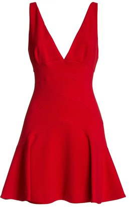 DSQUARED2 A-line Short Dress In Red