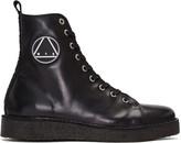 McQ by Alexander McQueen Black Chris High-Top Sneakers