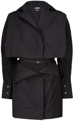 Jacquemus La Robe Terraio cotton-blend minidress