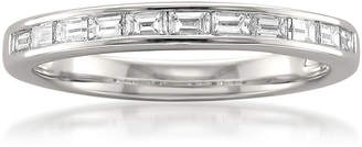 MODERN BRIDE Womens 3MM 1/2 CT. T.W. Genuine White Diamond Platinum Wedding Band