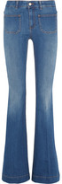 Stella McCartney High-rise Flared Jeans - Mid denim