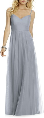 After Six Sweetheart Neck Tulle A-Line Gown