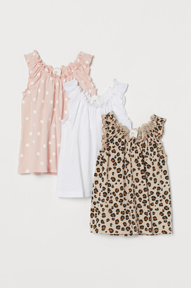 H&M 3-pack Sleeveless Tops