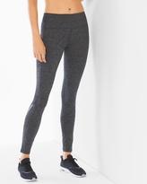 Soma Intimates Back Zip Leggings Charcoal Heather