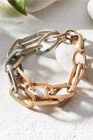 Multi Layer Patina Link Bracelet