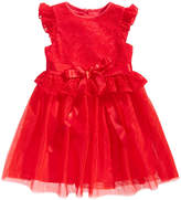 Laura Ashley Red Lace Dress, Toddler Girls (2T-5T)