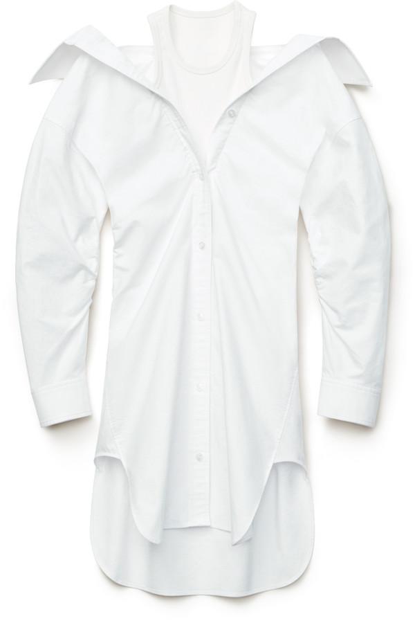 alexanderwang.t Off-Shoulder Shirt Dress