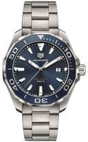 Tag Heuer Steel Aquaracer 300m Quartz Watch 43mm