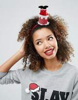 Asos Holidays Santa Chimney Headband