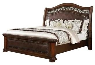 Abeer King Platform Bed Fleur De Lis Living