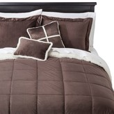 Nobrand No Brand Microberber 5 Piece Bed Set - Brown (Queen)