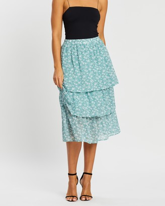 Atmos & Here Melody Layered Skirt