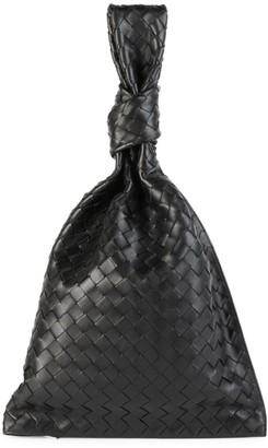 Bottega Veneta Twist Leather Clutch