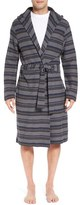 UGG 'Miles' Stripe Cotton Robe