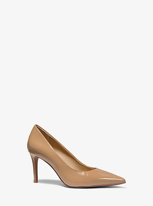 Michael Kors Keke Patent Leather Mid Pump