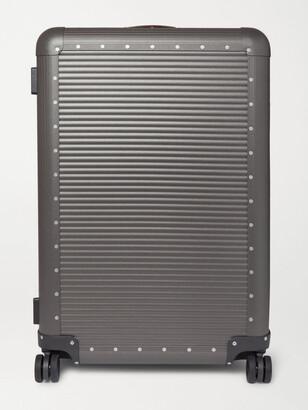 FPM Milano Spinner 76cm Aluminium Suitcase - Men - Gray